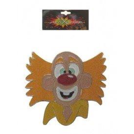 Broche clownsgezicht mt. 5 cm