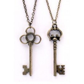 Ketting sleutels brons