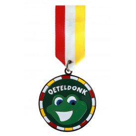 Medaille/Onderscheiding speldje kikker oeteldonk versie 1