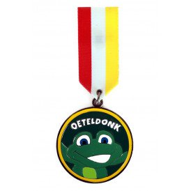 Medaille/Onderscheiding speldje kikker oeteldonk versie 3