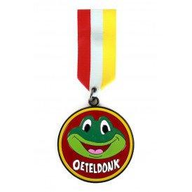 Medaille/Onderscheiding speldje kikker oeteldonk versie 4