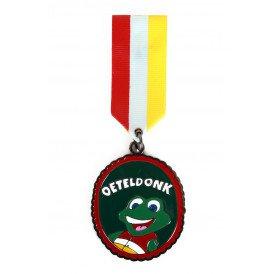 Medaille/Onderscheiding speldje kikker oeteldonk versie 6