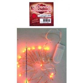 Ledverlichting snoer rood 2 meter