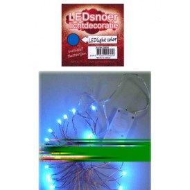 Ledverlichting snoer blauw 2 meter