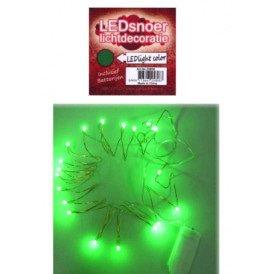 Ledverlichting snoer groen 2 meter
