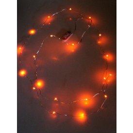 Ledverlichting snoer oranje 2 meter