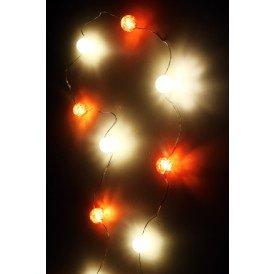 Ledverlichting snoer bolletjes rood