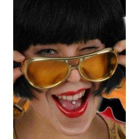 Elvis bril goud populaire