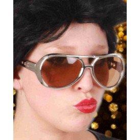 Elvis bril zilver populaire
