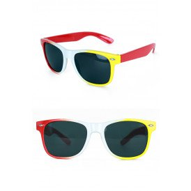 Bril oeteldonk rood/wit/geel