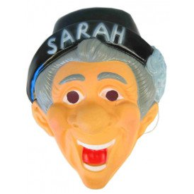 Masker met hoed sarah plastic