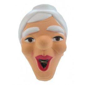 Masker sarah plastic lachend