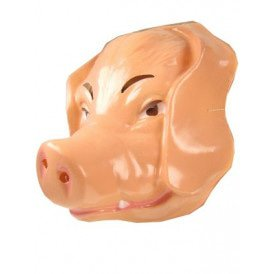Plastic varken masker volwassen