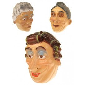 Masker plastic oma assortie