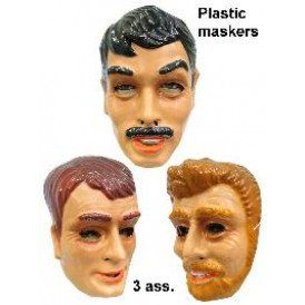 Masker plastic jonge mannen