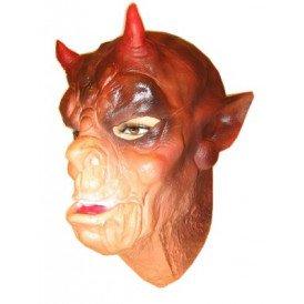 Masker demoon met horens latex