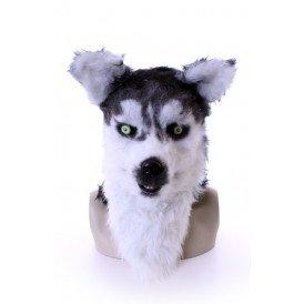 Volkop masker Husky/ wolf lichtgevende ogen, bewegende mond