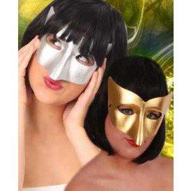Oogmasker vivi goud/zilver
