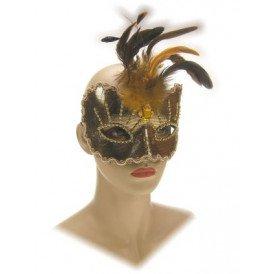 Oogmasker roma goud luxe