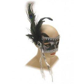 Oogmasker florence zilver luxe