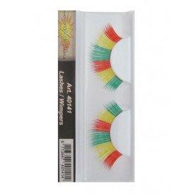 Wimpers rood/geel/groen