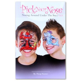 Schminkboek Pick your nose 3 by Margi Kanter