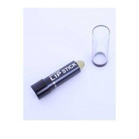 Glitter lippenstift goud