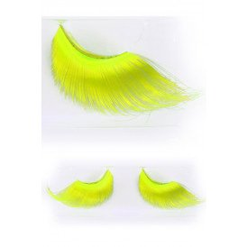 Wimpers maxi fluor geel