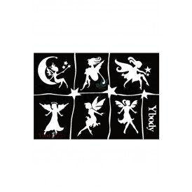 Stencil Fairies Y body