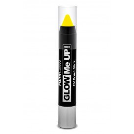 Paint liner Stick neon UV 3,5 gram geel