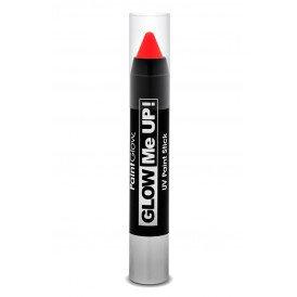 Paint liner Stick neon UV 3,5 gram rood