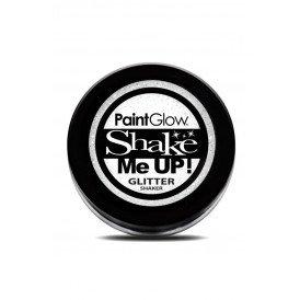Glitter shakers Wit 5 gr.