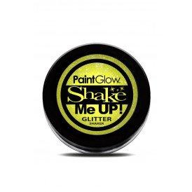 Neon UV glitter shaker Sherbet Lemon 3 gr.