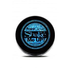 Neon UV glitter shaker Ice Blue 3 gr.