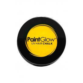 Hair Chalks Neon UV geel 3,5 gr.