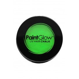 Hair Chalks Neon UV groen 3,5 gr.