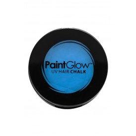 Hair Chalks Neon UV blauw 3,5 gr.