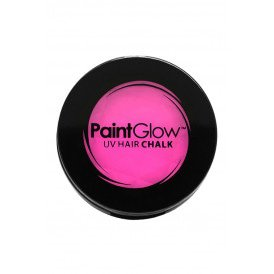 Hair Chalks Neon UV roze 3,5 gr.