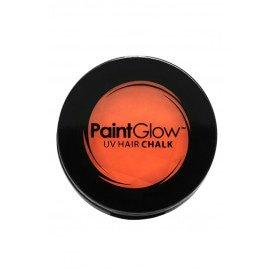 Hair Chalks Neon UV oranje 3,5 gr.