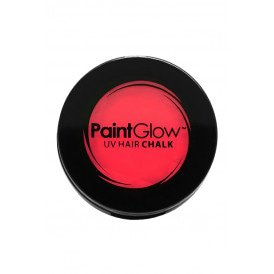 Hair Chalks Neon UV rood 3,5 gr.