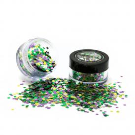 Biologische chunky glitters 3gr. Ra