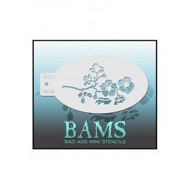 Bad Ass BAM stencil 1414