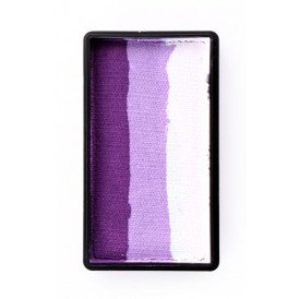 PXP 28 gram splitcake block gDeep purple | lilac | white
