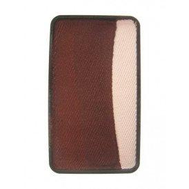 PXP 3 x 12 gram splitcake palet b White | dark brown | light brown