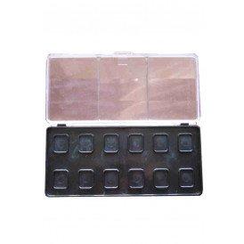 PXP Aqua face and body paint (re)fillable palette 6 x 12 gram Professional Colours Face Paint