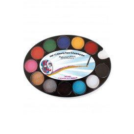 PXP 12-Kleurig Aqua Schminkpalet