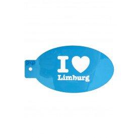 PXP schminksjabloon  I love Limburg