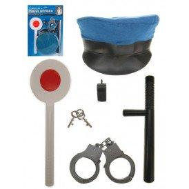 Politieset op kit 5 delig