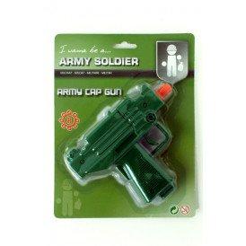 Spy mission uzi cap gun 8 schots
