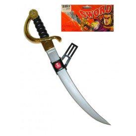 Piraten zwaard + doodshoofd